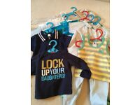 Bundle of Baby Boy Clothes - Quality Brands