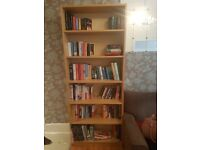 Ikea beech effect bookcase