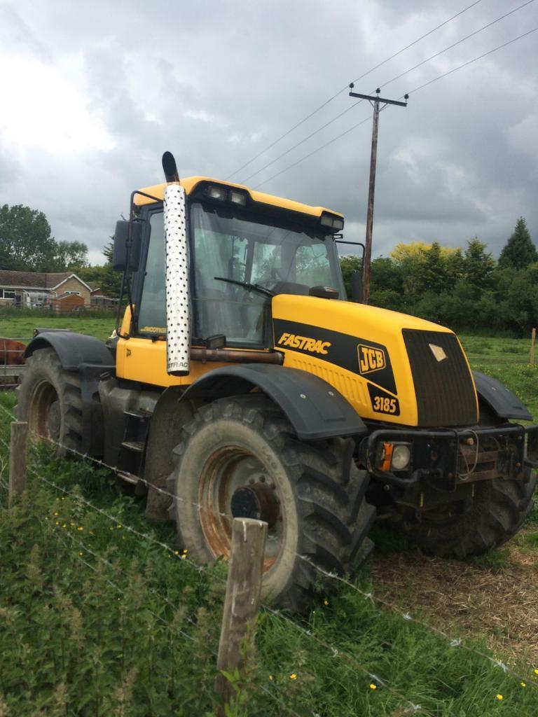 JCB fastrac 3185 smooth shift tractor farm | in Melbourn, Cambridgeshire |  Gumtree