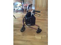 Drive 3 wheeled walker
