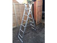 Wickes Professional 3 Way Combination Ladder (new: 84.99)