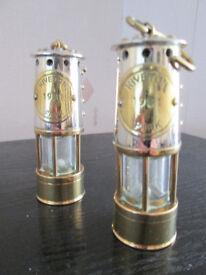 various brass items