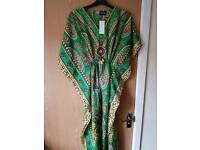 Ladies Kaftan Dress New
