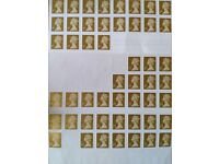 50 Unused First Class Stamps Very Cheap:£32 worth for just £25
