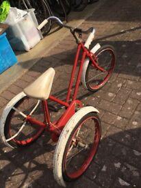 Vintage trike for sale