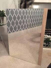 Brand New bathstore mirrored cabinet 2 shelves