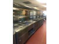 HOT CUPBOARD - BAIN MARIE - GANTRY - FANTASTIC CONDITION!!! CHEAP !!!