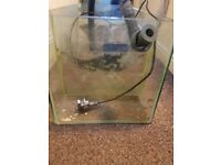 Eheim pump & sump for sale. used condition but works great.