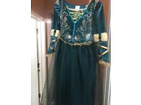 Merida original Disney Brave dress