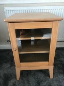WOODEN LIGHT OAK TV STAND & MEDIA UNIT