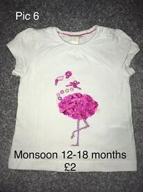 Baby Clothes - 12 to 18 Months
