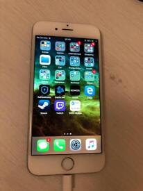 iPhone 6 64GB unlocked in silver. Mint screen