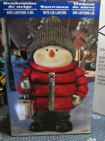 Large Standing Snowman (NEW)