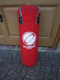 OLYMPUS SPORT PUNCH BAG IN VERY GOOD CONDITION