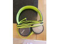 Sony headphones MDR-ZX660AP