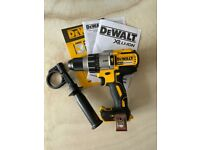Dewalt 18v Li-ion Brushless Hammer Combi Drill, 1x 6ah & Charger