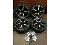 4 vauxhall corsa alloy wheels