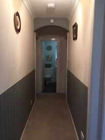 Low cost, small 1 bed flat, Bonar Bridge. Ground floor. Near to all required facilities/transport