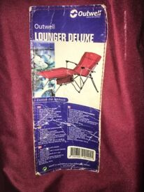 2x Outwell Folding Loungers with bag