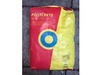 Blue Circle Postcrete - 4x20kg bags
