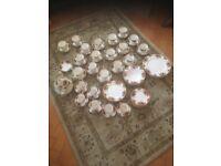 Royal albert bone china old country roses tea set