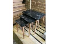 Granit effect brand new coffee table