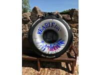 Sevylor Fearless Ski Biscuit Rubber Ring and Cover