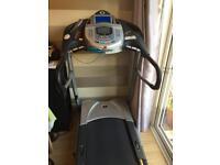 Horizon ti22 treadmill /running machine with tv/dvd player