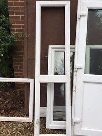 Quality used PVCu White double glazed Windows and Door
