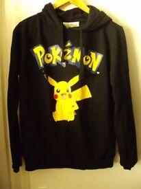 pokemon pikachu hoodie unused