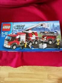 Lego 7239 fire set