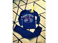 BNWT Joules boys pjs pyjamas 5-6y RRP£26.99 New £15 posted price Blue