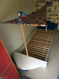 NEXT pirate ship bed & accessories
