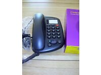 DARK GREY CORDED BUSINESS PHONE