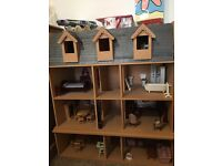 Model Victorian Dolls House and all Accessories