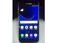 Samsung galaxy S7 SM-G930 Smart Mobile phone unlocked. Black 32GB WITH warranty & Receipt