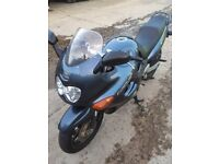 2000 GSX 750 F mot,ed to April 2019 totally original bike dry weather use only ready to ride £1400