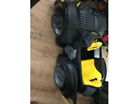 Batmobile electric ride on with charger
