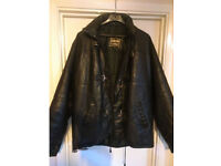 Mens Large Leather coat