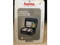 "HAMA ""SPORTSLINE M"" projector bag. Brand new and unused."