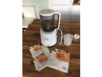 Philips AVENT Combined Baby Food Steamer and Blender, White