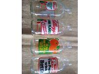 Collectible 1980s milk bottles
