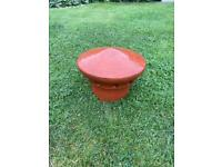 Red Terracotta Chimney Top
