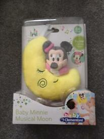 Minnie the mouse lullaby baby toy