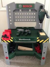 Bosch toy work bench