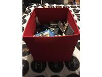 Large box full of lego