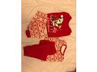 12-18 months set of 2 Disney mini mouse pjs