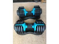 Men's Health 2 x 25kg Adjustable Dumbbells