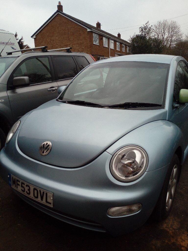 Volkswagen Beetle 53 plate light met blue | in Kingsbury, Staffordshire |  Gumtree