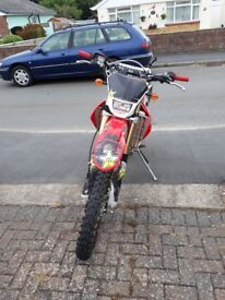 2014 crf 450 road legal